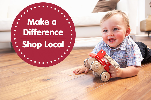 Make a difference, shop local!