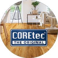 Coretec waterproof luxury vinyl flooring for your home