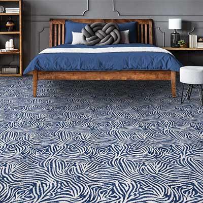 Couristan Royal Collection Animal print carpet